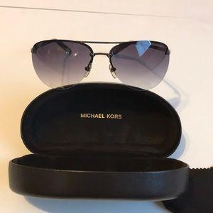 Michael Kors Aviator gunmetal 🕶 pre owned